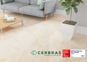 Launch of the CERBRAS Porcelain Tile and winning the seventh GTPW Award